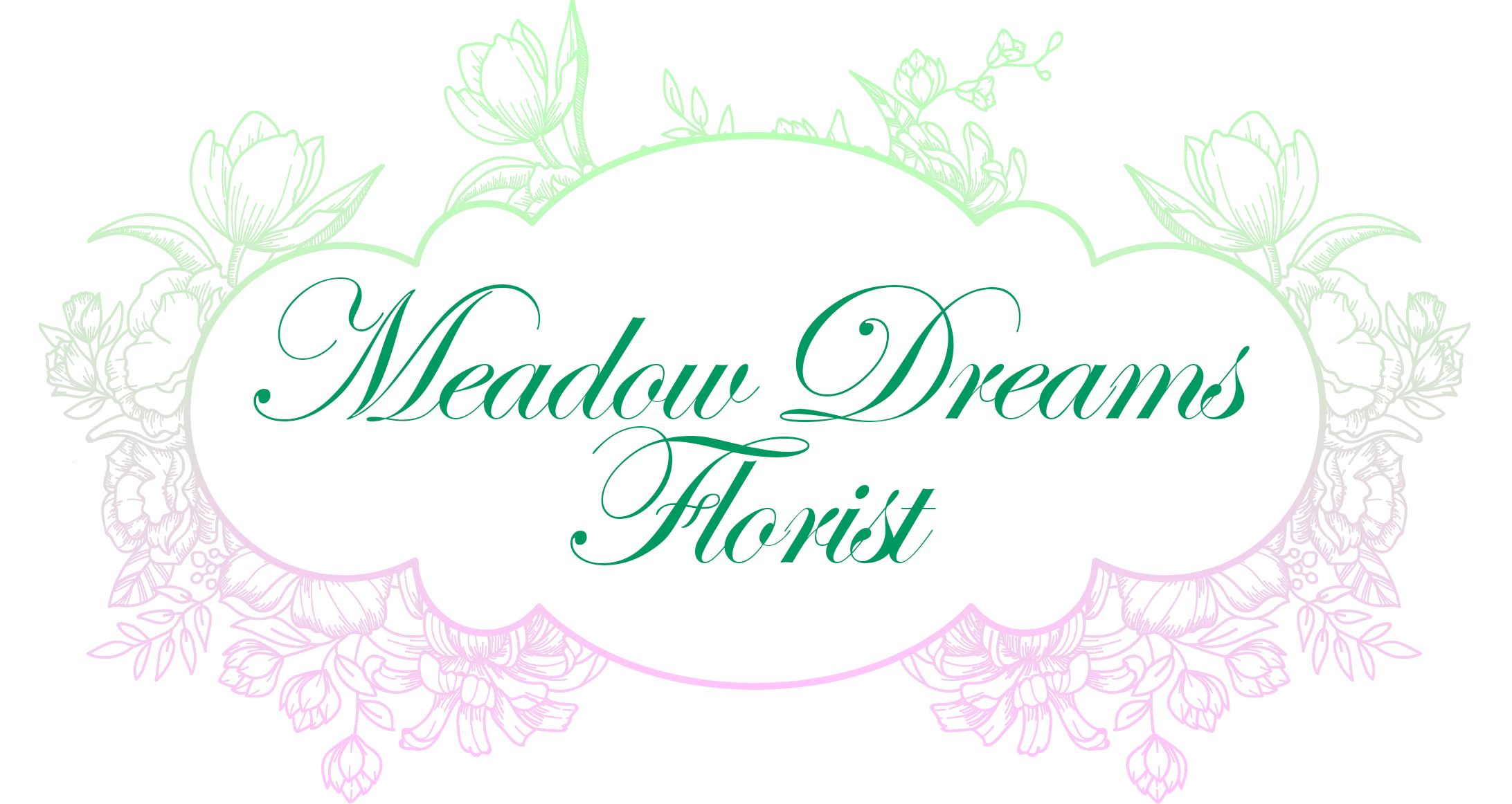 Meadow Dream Florist Logo